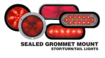 Sealed Tail Lights